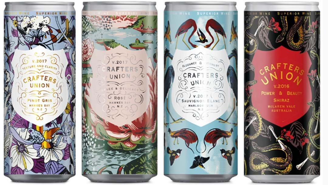 You Can Now Buy Wine In A Can At BWS 'Cause 2018 Knows What You Need