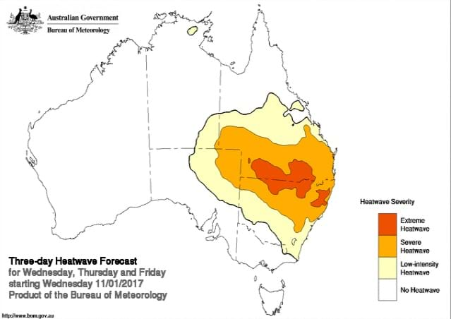 Mid North Coast to swelter from today