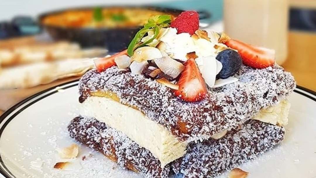 You Can Get Actual Lamington Waffles In Sydney