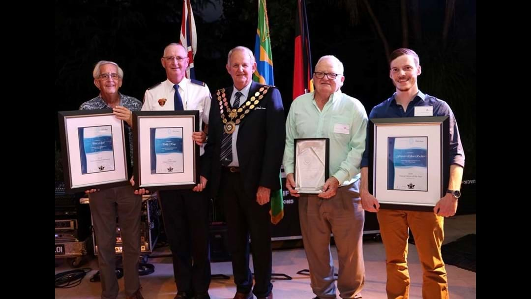 Phil Hoey named Wagga Citizen of the Year