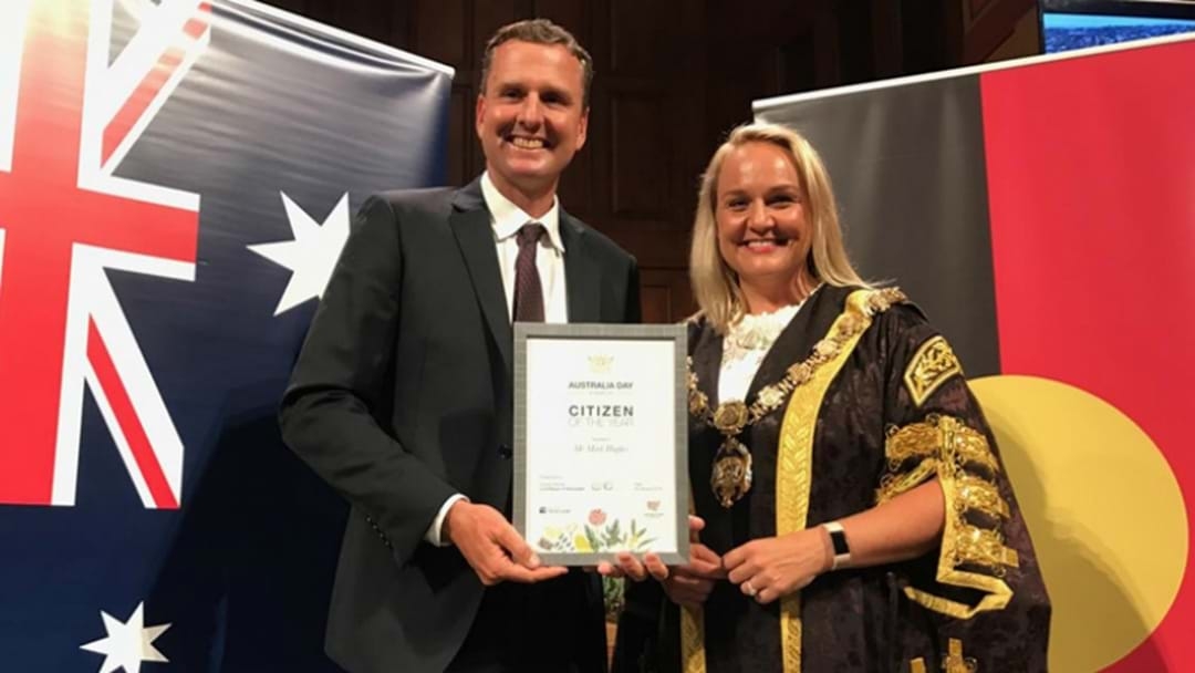 Mark Hughes Named Citizen Of The Year