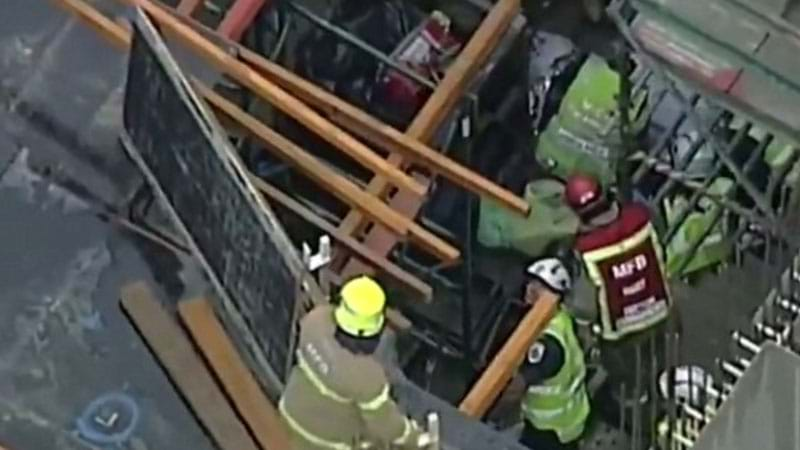 Article heading image for Tradesman Seriously Injured After Scaffold Fall
