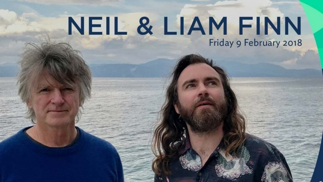 Neil & Liam Finn are performing in Cairns next Friday night!
