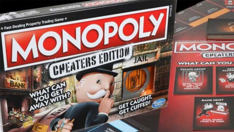 Monopoly encourages dirty play with Cheaters Edition