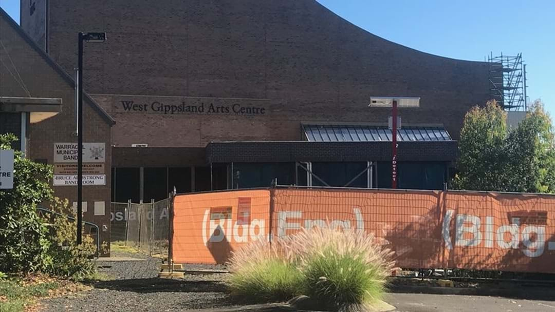 West Gippsland Arts Centre Renovations Are On Schedule