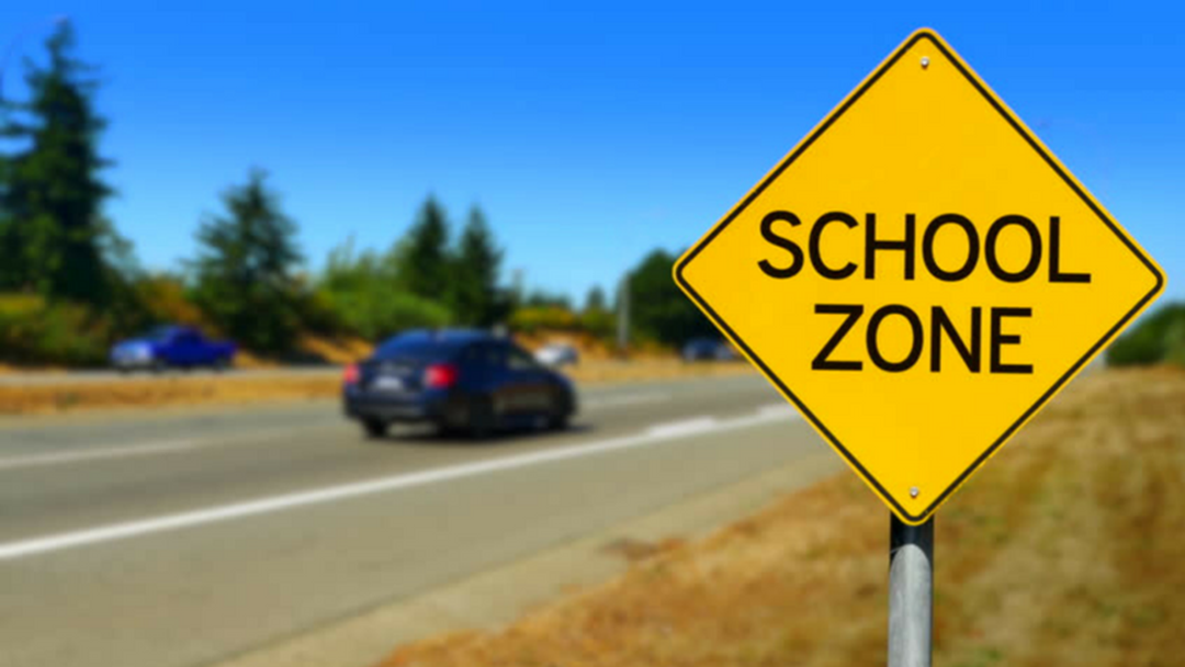 New School Zone Now In Place At A Griffith School