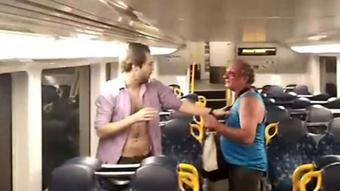 Violent Brawl Erupts On Sydney Train...And Ends With A Hug