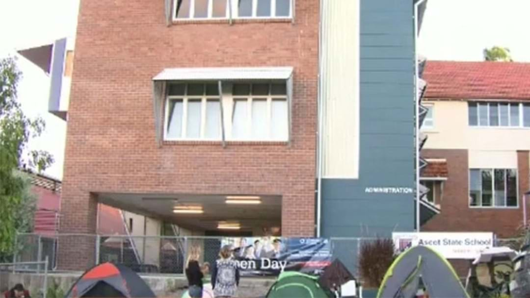Parents Camp Out For Over 48 Hours For Chance To Enrol At Prestigious School