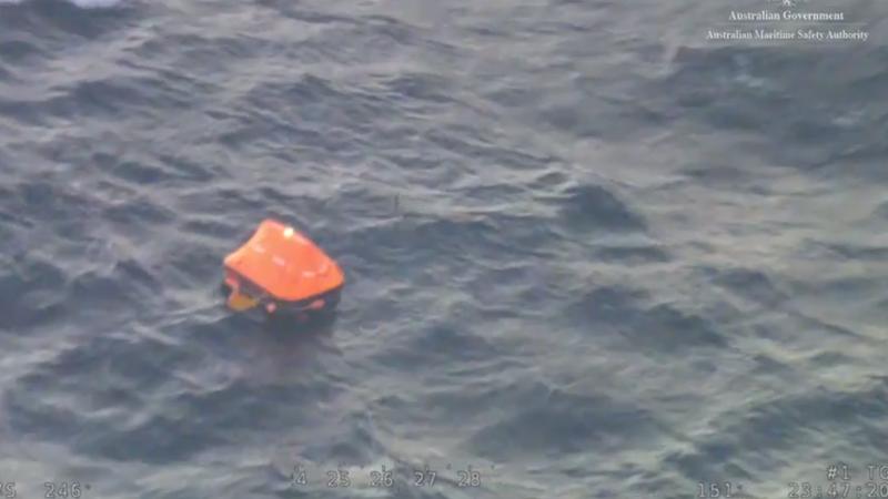 Article heading image for Fishermen Escape Flaming Vessel