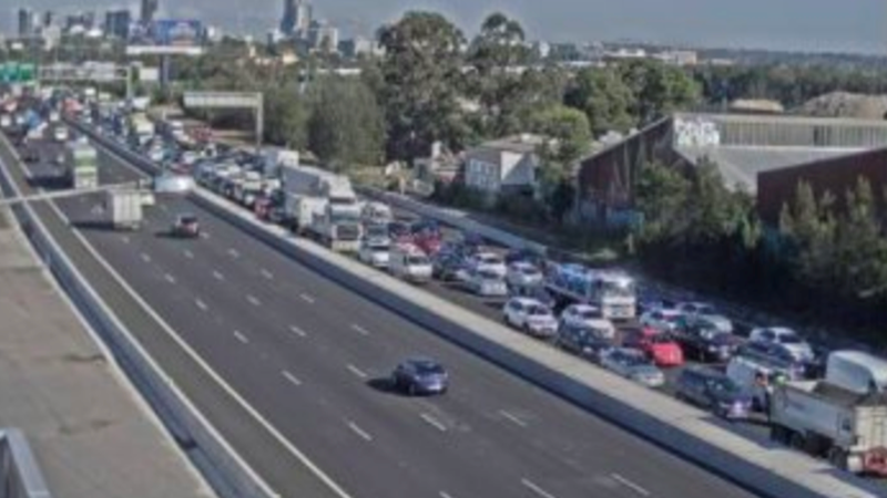 Article heading image for Traffic On The M4 Is Queued Back 8km After A Two-Car Crash This Morning