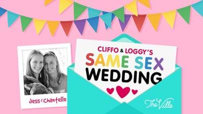 Cliffo & Loggys's Same Sex Wedding