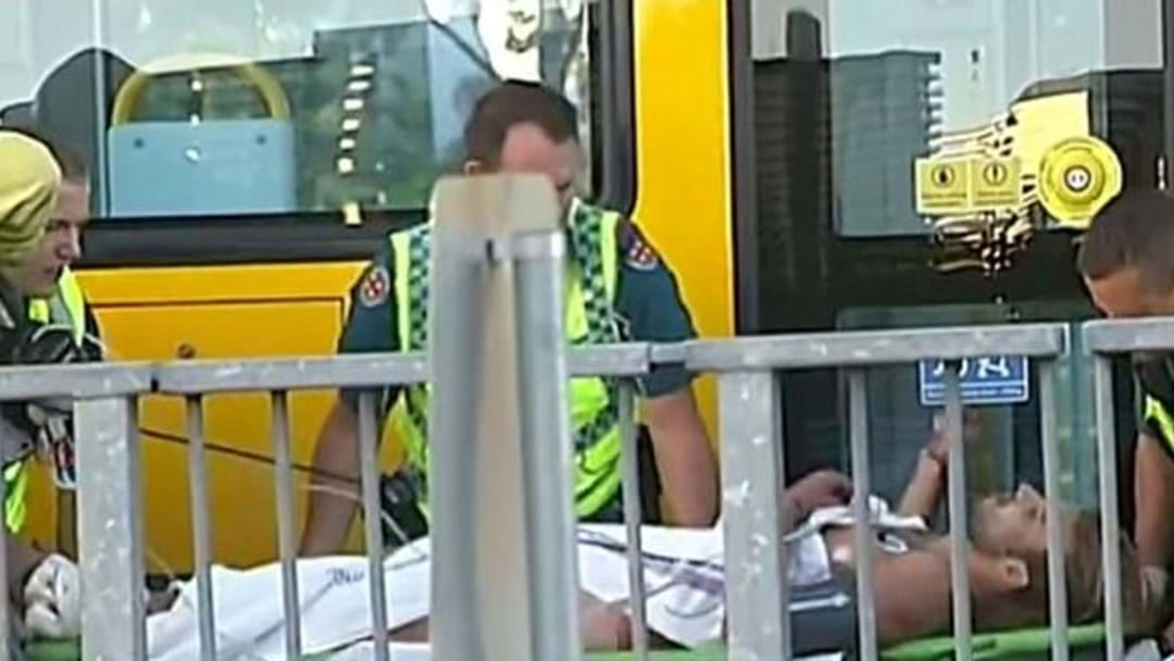 Man Run Over By Tram After 'Falling Asleep' On The Tracks