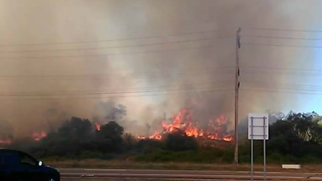 PHOTOS: Firefighters Contain Stockton Bushfire