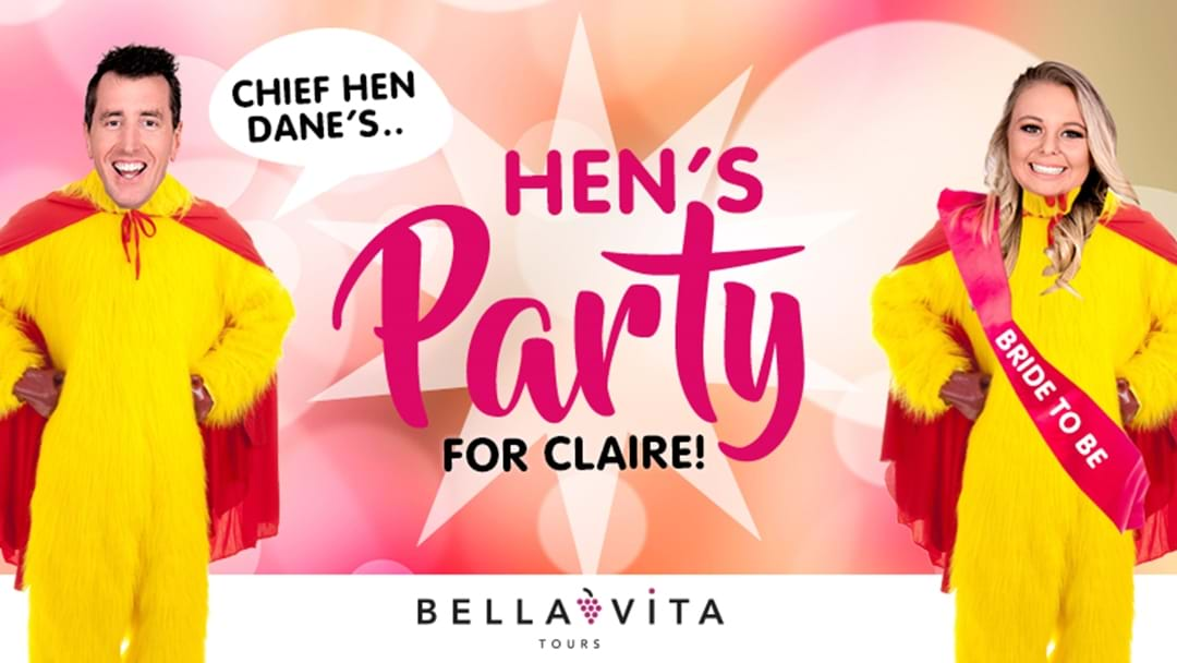 Chief Hen Dane's Hen's Party For Claire!
