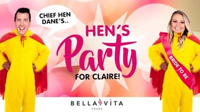 It's Chief Hen Dane's Hen's Party For Claire!