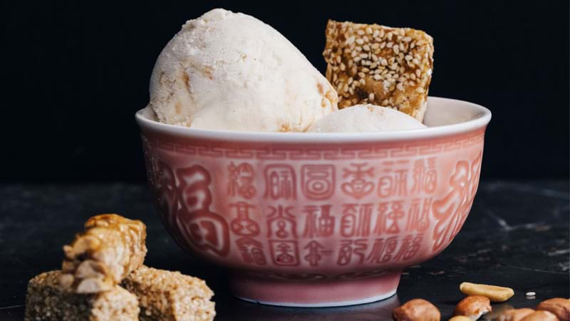 Article heading image for Gelatissimo Drops Brand New Peanut Butter & Sesame Swirl Flavour For Chinese New Year