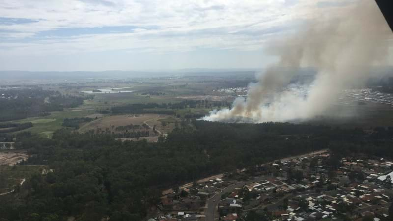 Article heading image for Firefighters Battle Blaze At East Maitland