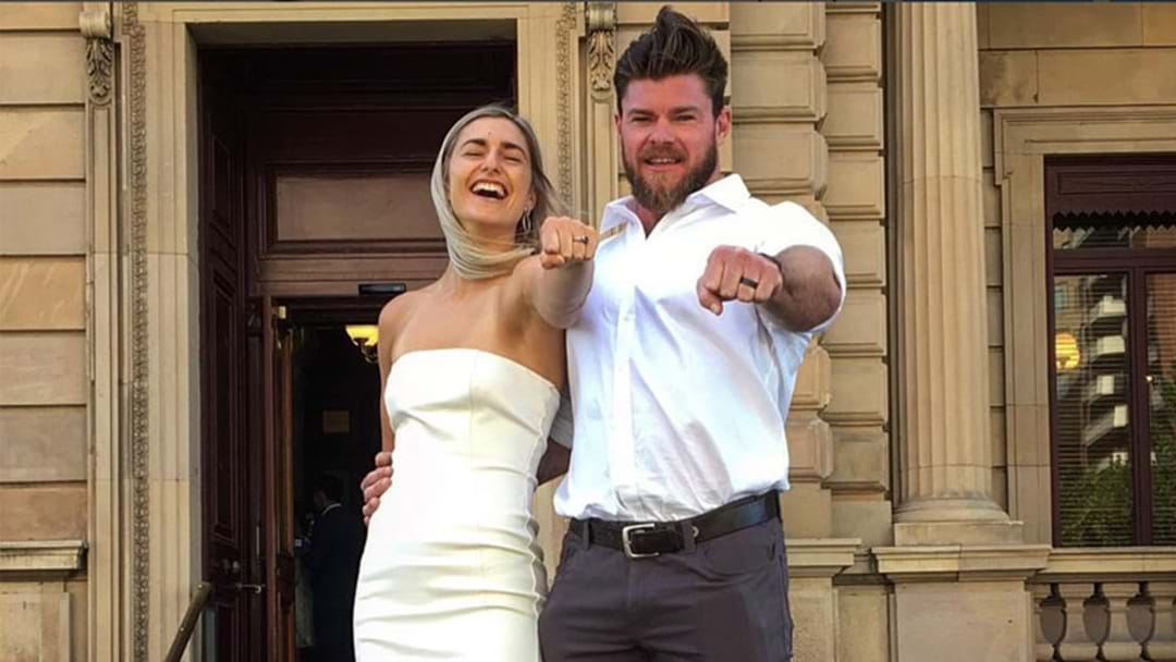 Frances Abbott Marries Boyfriend Four Months After They Met!