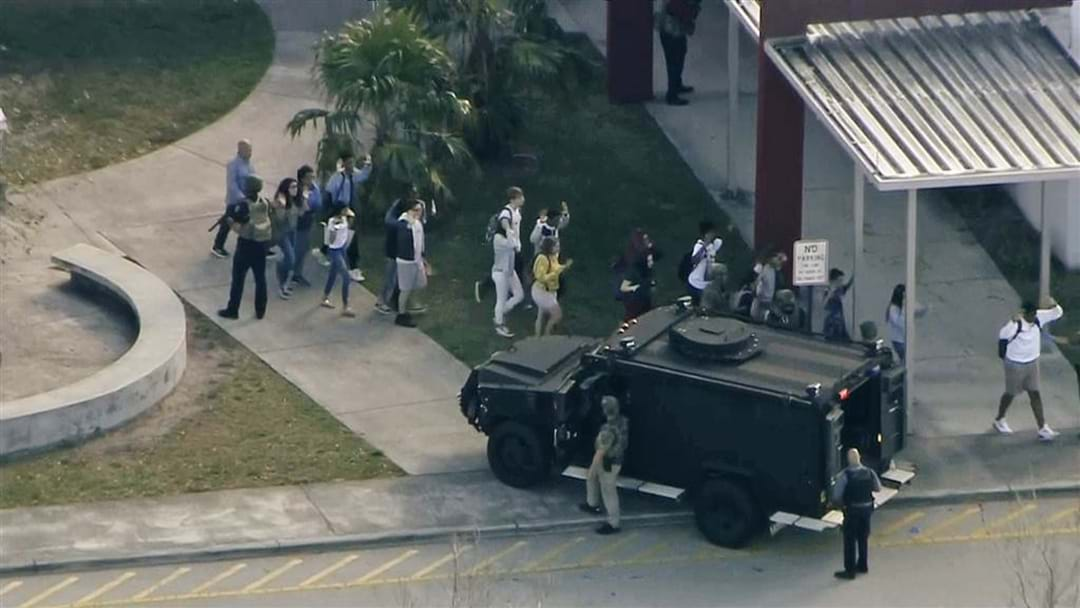 17 Confirmed Dead In Florida High School Shooting