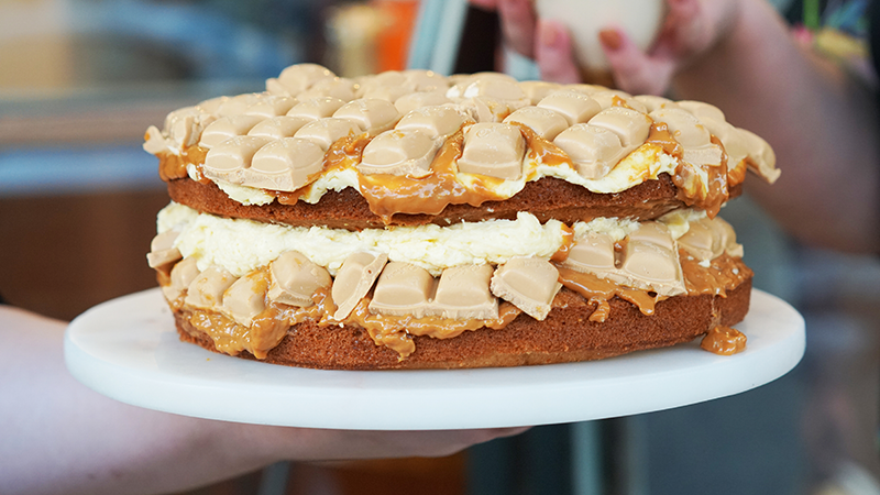 Article heading image for Cake Bar Have Made A Caramilk Cake & HOLY SH*T