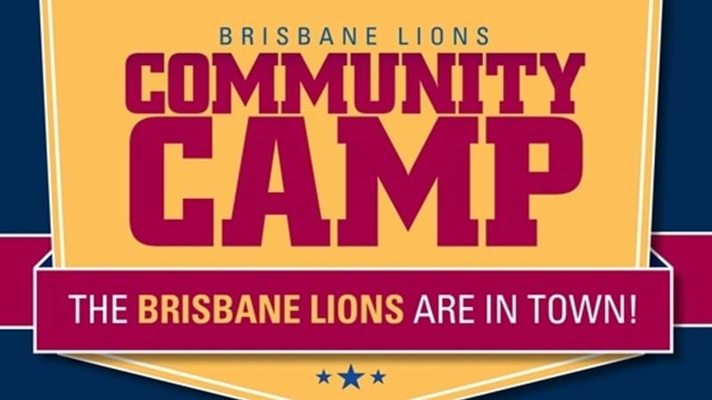 Article heading image for Brisbane Lions Community Camp