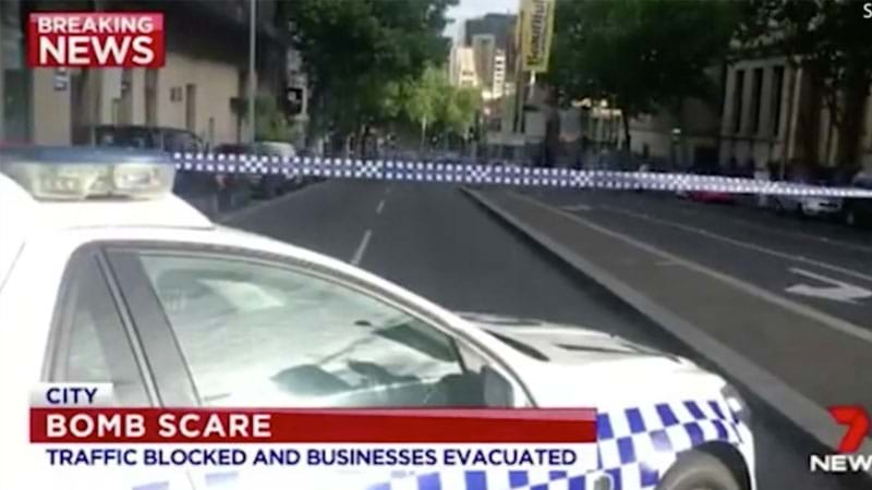 Article heading image for Bomb Squad Called To Melbourne CBD During Peak Hour