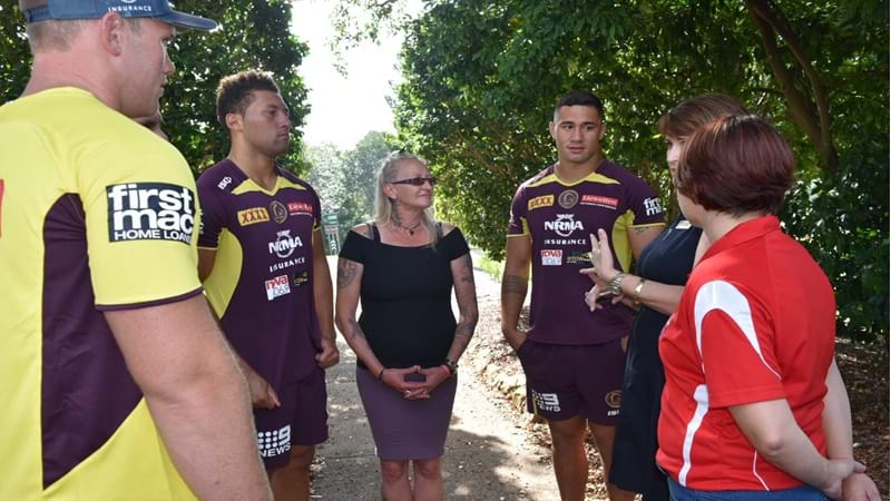 Article heading image for Brisbane Broncos Pay a Visit to Sunrise Way