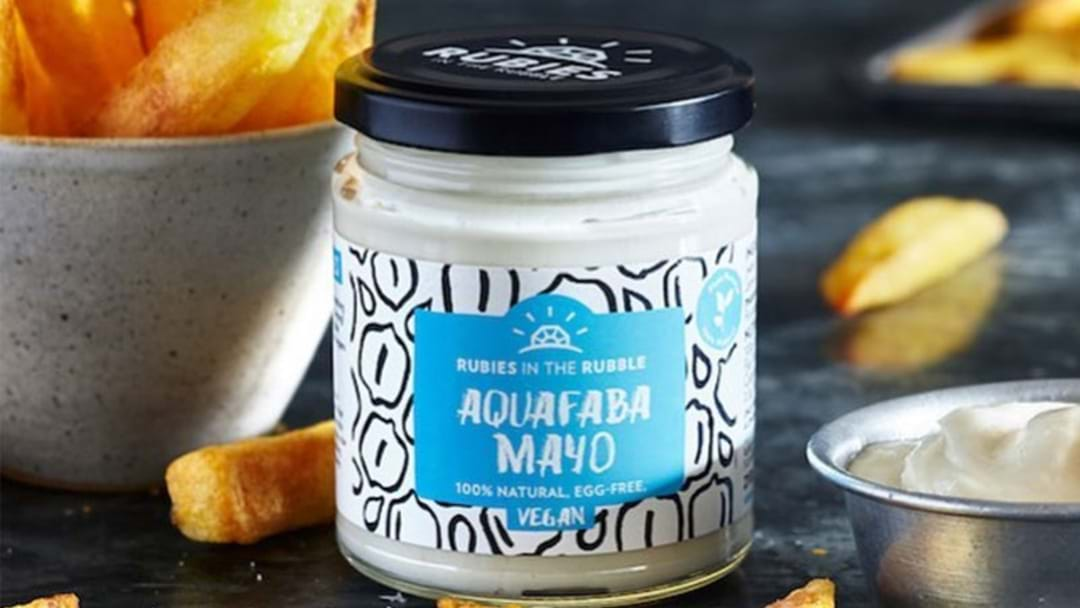 A Vegan Mayonnaise Exists & Its Made With Leftovers From Hummus Factories!