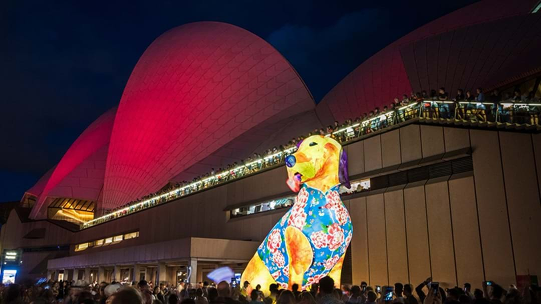 Sydney Lights Up For Chinese New Year