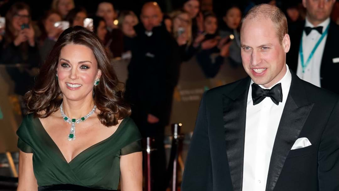 Kate Middleton & Her Growing Baby Bump Make A Glowing Appearance At The BAFTAs