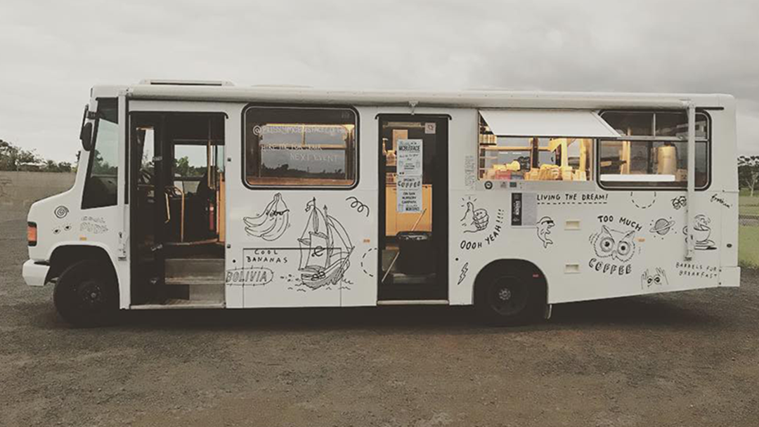 A Coffee Truck Called Bussy McBusface Is Travelling Through Melbourne