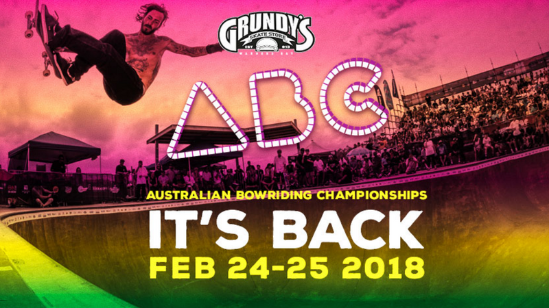Article heading image for The 2018 Australian Bowl Riding Championships are here!