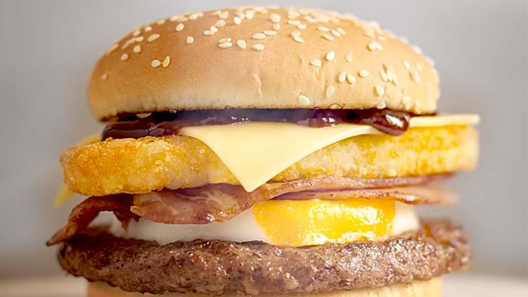 Macca's Drops The 'Big Brekkie Burger' To Satisfy The Hungriest Of Breakfast Cravings