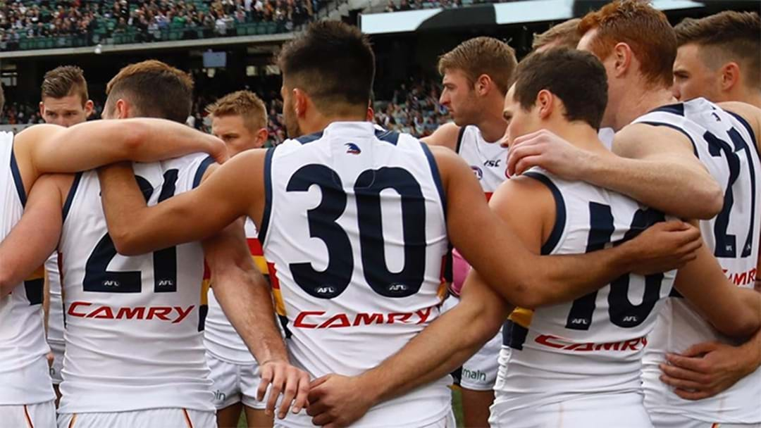 Hughesy Reveals His Son Barracks For The Adelaide Crows