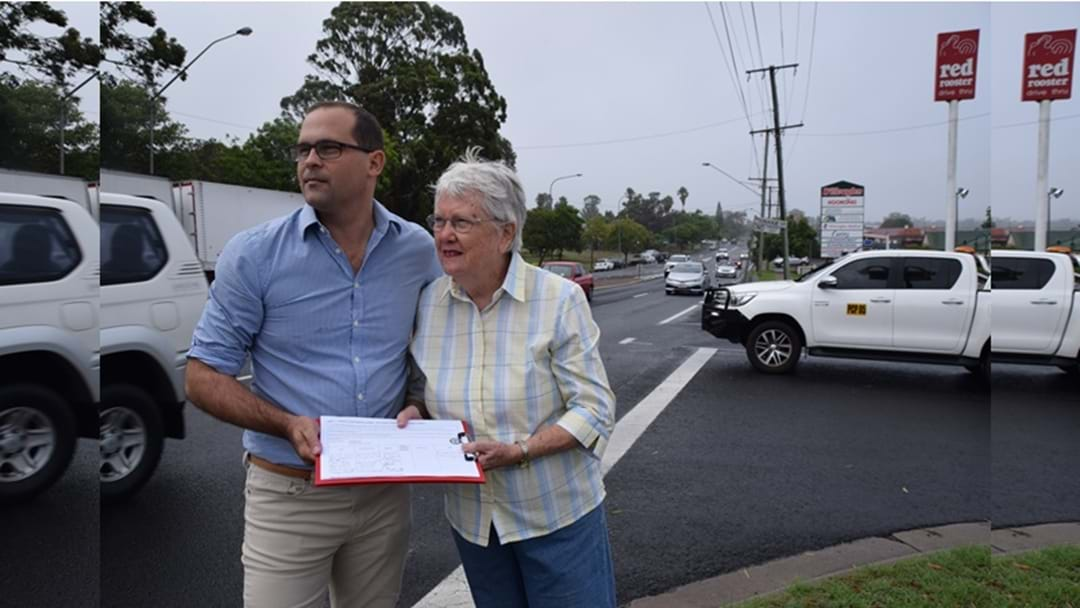 Residents Petition for Traffic Lights at Dangerous Intersection