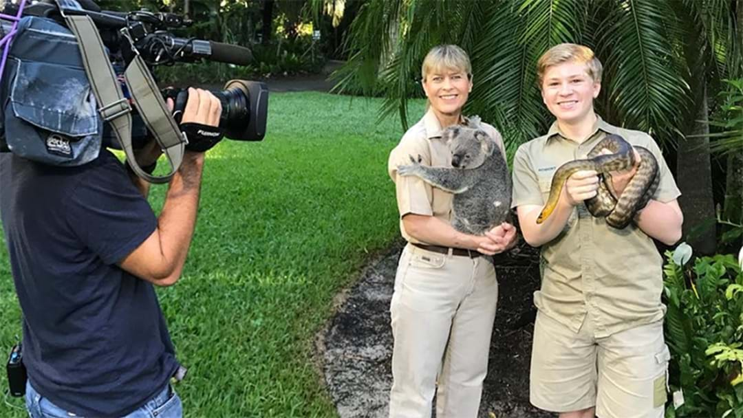 Robert Irwin Hopes He Is Making Dad Steve Irwin Proud With His New TV Show