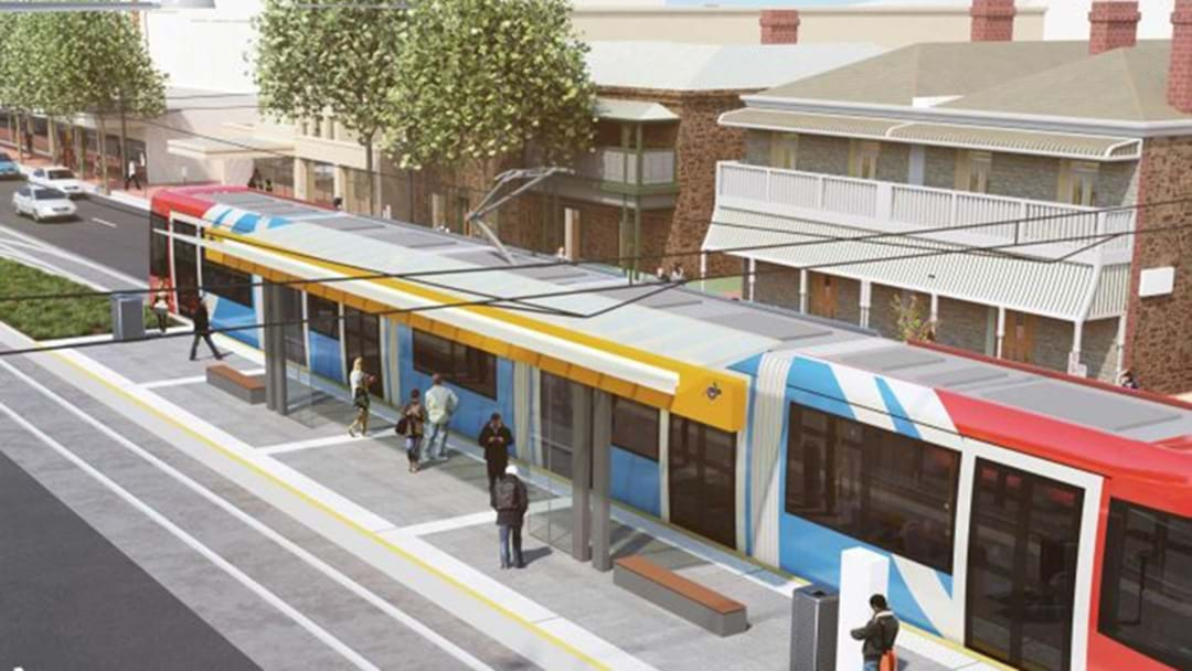 Adelaide Could Be On Track To Get Another Tram Line Sorted