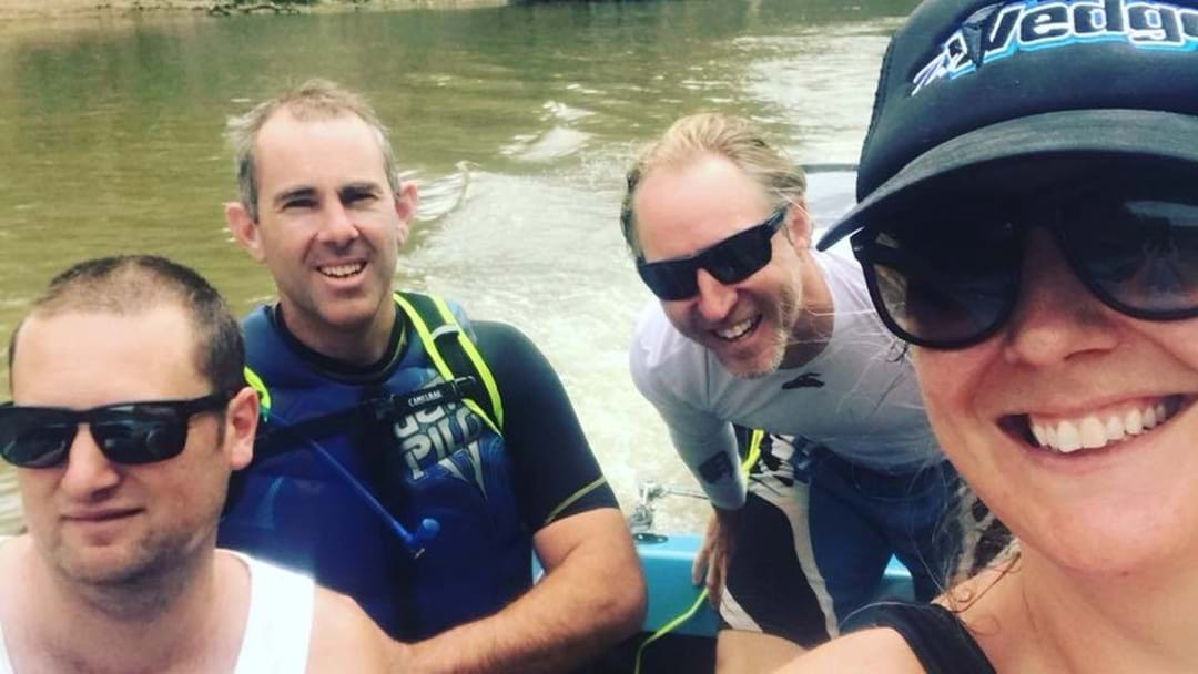 A Local Team Is Travelling The Entire Murray River On Water Skis