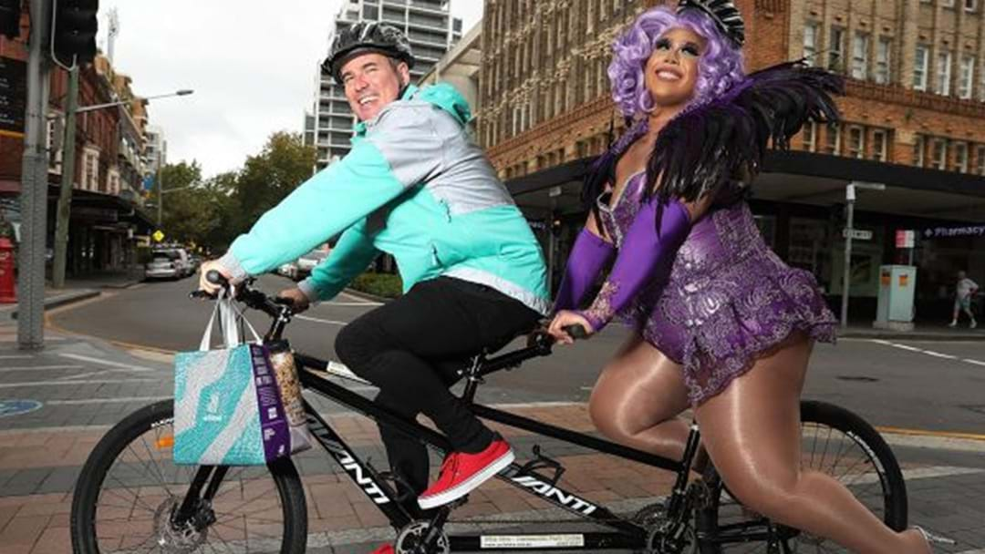 Drag Queens Will Be Delivering Sydney Rainbow Doughnuts Tomorrow With Deliveroo