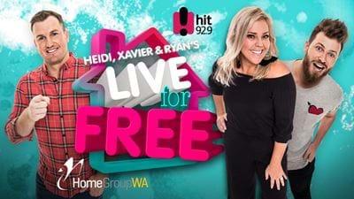 Heidi, Xavier & Ryan's Live For Free