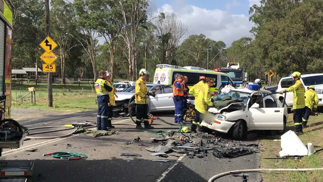 Woman, 17, Injured In Three-Car Smash In Sydney's West