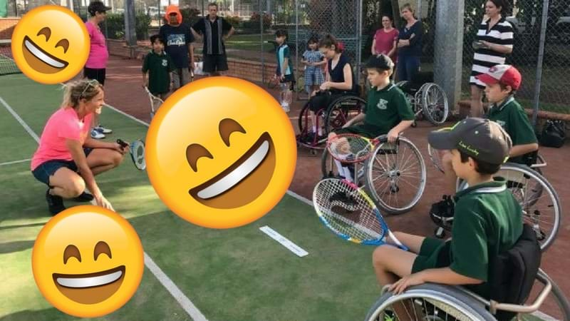 Article heading image for Townsville - Come Try Wheelchair Tennis