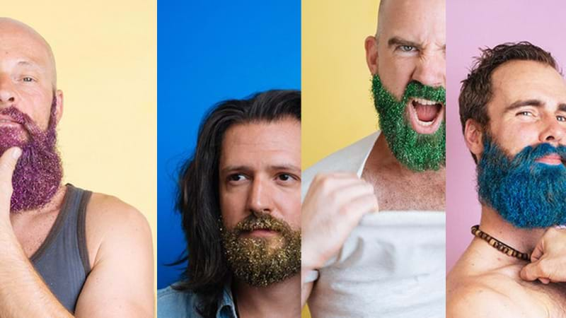 Article heading image for A Glitter Beard Bar Is Popping Up In Sydney Tomorrow