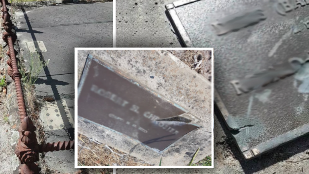 Cranbourne Graves Vandalised, Stolen In Sickening Cemetery Attack