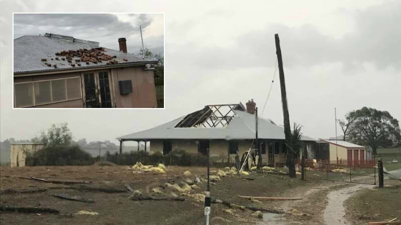 Article heading image for PHOTOS: Singleton Smashed By Wild Storm