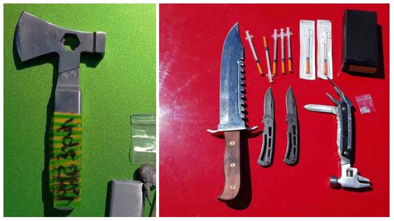 Article heading image for Cessnock Prison Blitz Uncovers Axe, Knives and Drugs