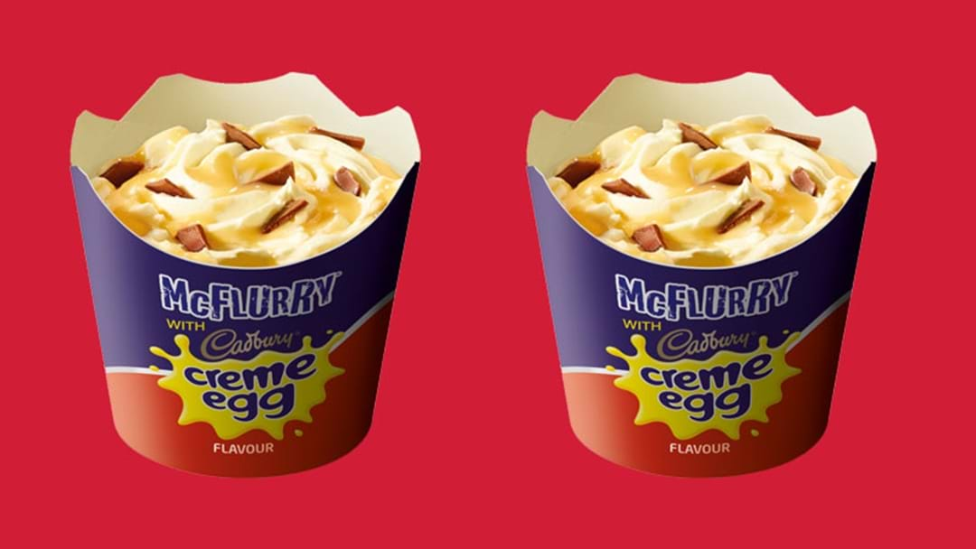 McDonald's Has Brought Back The Creme Egg McFlurry To Make All Of Your Soft Serve Dreams Come True