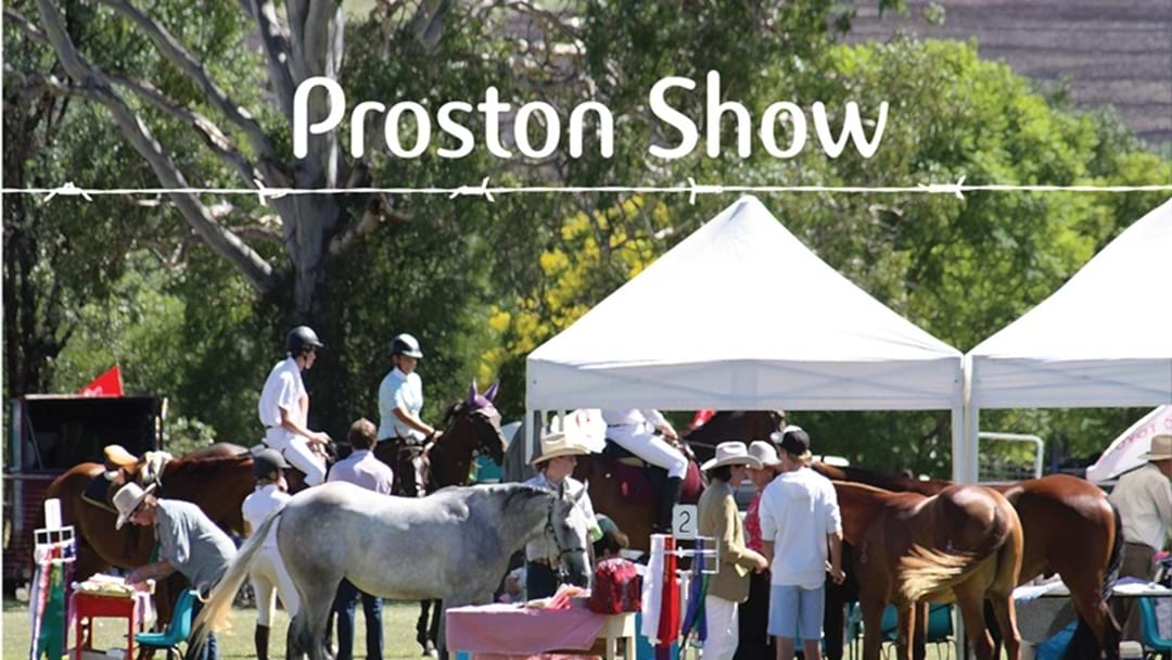South Burnett Get Ready for the 60th Annual Proston Show