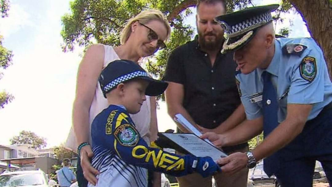 Seven-Year-Old Honorary Officer Helps Police Catch Bad Guys Who Stole From The Easter Bunny