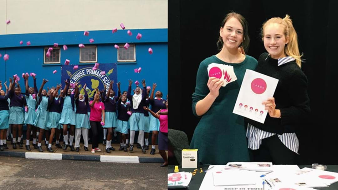 Meet The Adelaide Teens Who Have Started Their Own Business Helping Girls In Developing Nations
